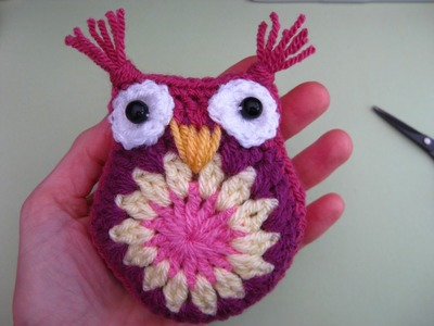 How to crochet owl. step by step