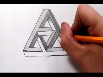 How To Draw a Complex Impossible Triangle