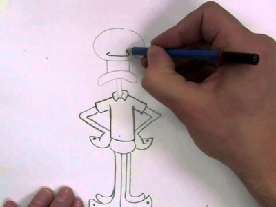 How To Draw: Squidward From Spongebob