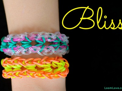 How to Make a Bliss Rainbow Loom Bracelet