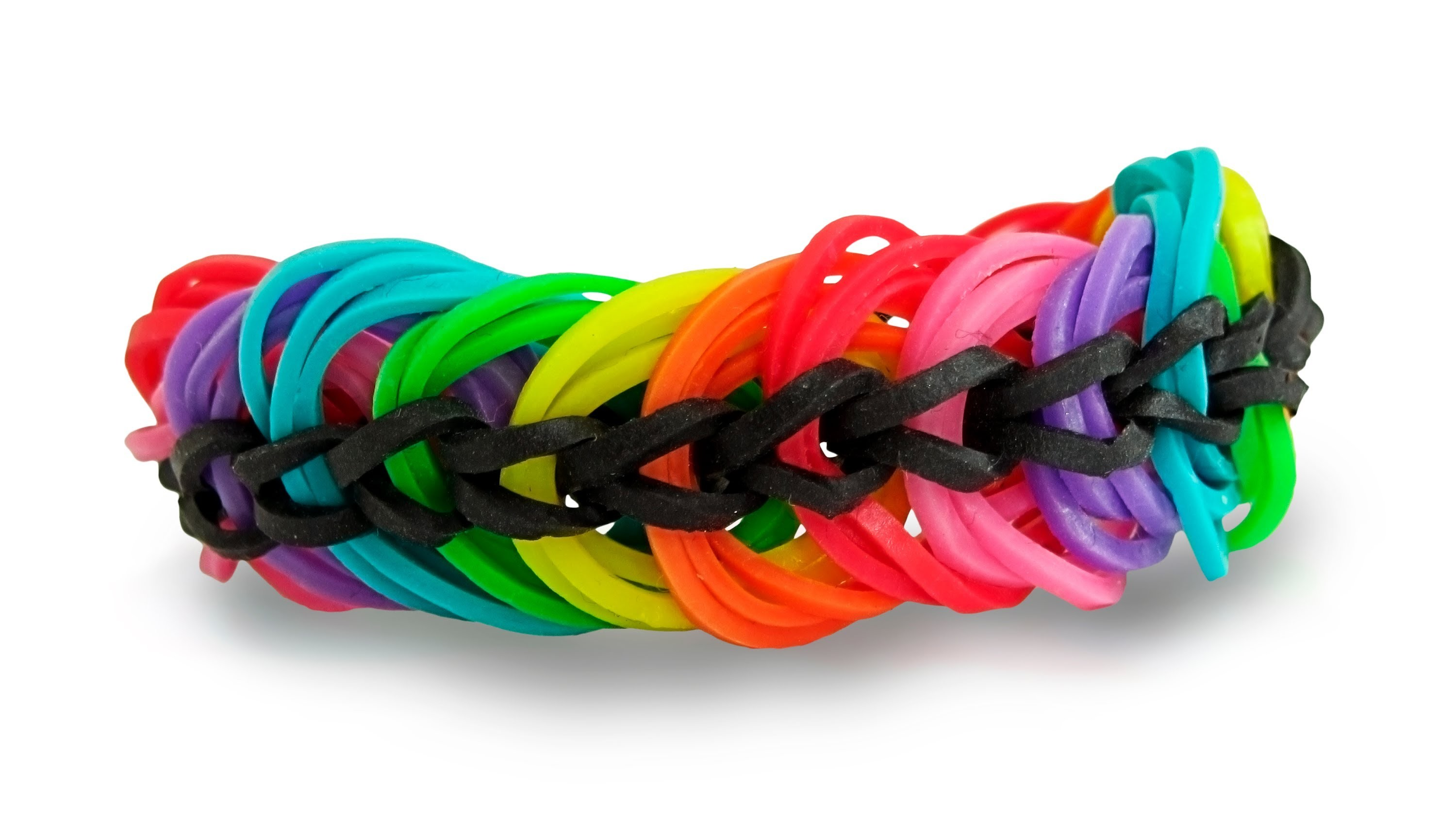 How To Make A Rainbow Loom Triple Link Chain Bracelet