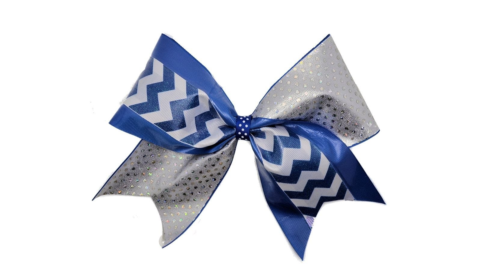How To Make A Tick Tock Cheer Bow