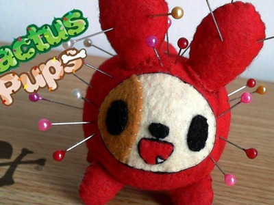 How to Make a tokidoki Cactus Pup Tortellino Felt Pin cushion plush