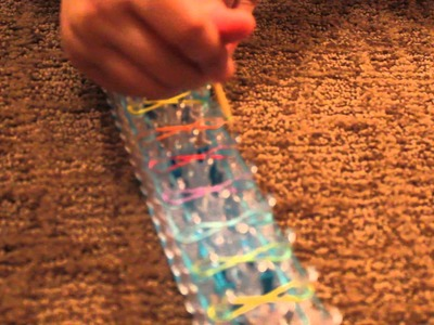 How to make an infinity bracelet on the rainbow loom