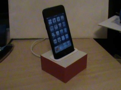 How to Make an iPhone.iPod Dock