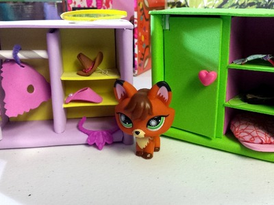 How to Make an LPS Wardrobe or Closet: Dollhouse DIY