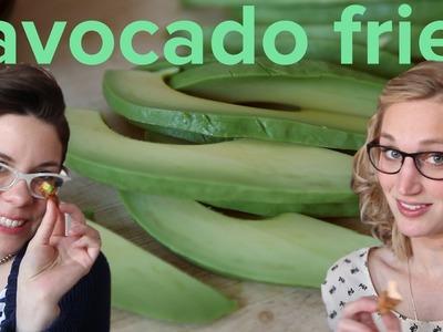 How to make avocado fries: Recipe for fried deliciousness