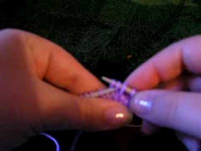 Knitting 3tog my way 2nd video