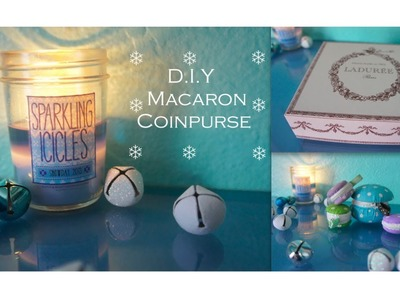 Macaron Coin Purse DIY
