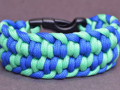 "Make the ""Swirling Winds"" Paracord Survival Bracelet - BoredParacord"