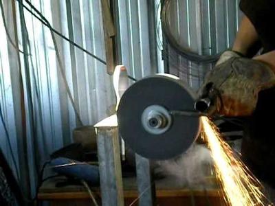 Making a spear (lanza) 7