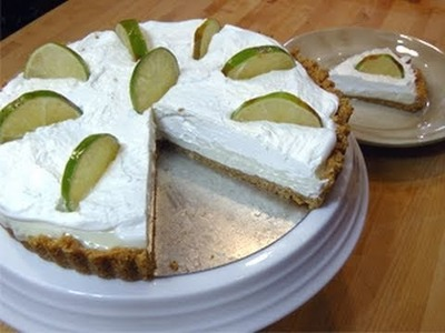 No-Bake Key Lime Pie from Scratch - Recipe Laura Vitale - Laura In The Kitchen Episode 58