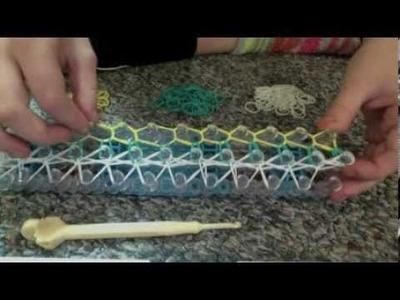 Ocean Wave Rainbow Loom Tutorial