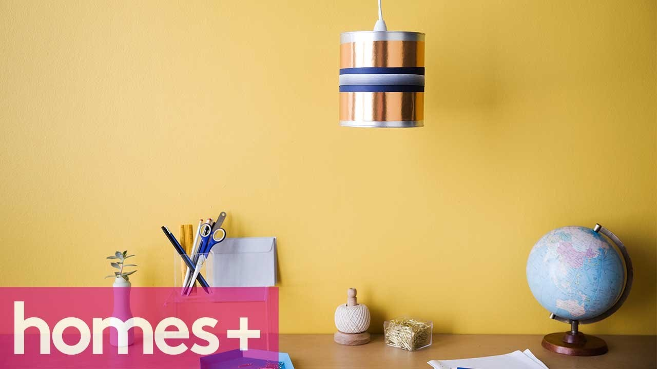PAINT CAN DIY IDEA #4: Pendant light - homes+