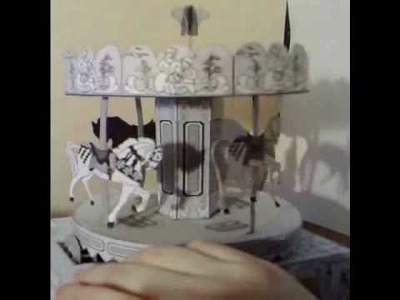 Paper Carousel - The Toy Shop paper model software