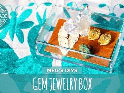 Quartz and Pyrite Jewelry Box- HGTV Handmade