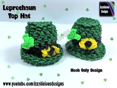Rainbow Loom 3D Leprechaun Top Hat Charm - Hook Only.Loomless (loom-less)