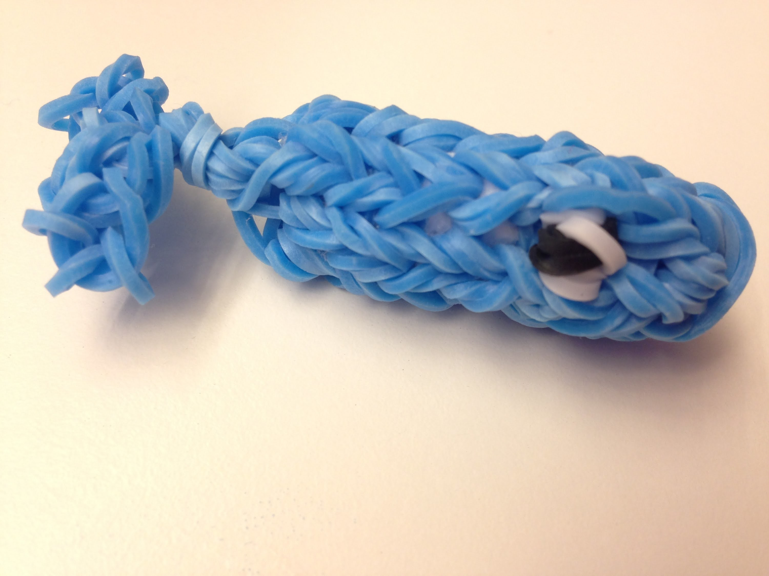 Rainbow Loom 3D Whale - How To Make