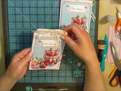 Recipe Slider Card - ScrapBerry's Afternoon Tea