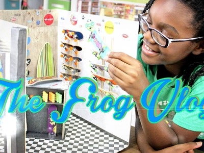 The Frog Vlog: How to Make a Doll Skateboard - Behind the Scenes