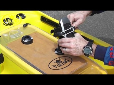 Viking Kayaks Profish 400 fit out ideas with RAILBLAZA
