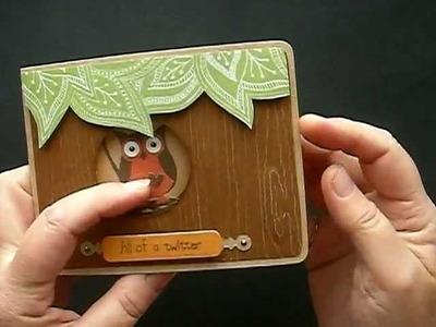 2 Hooting Owl Pop-Up Cards