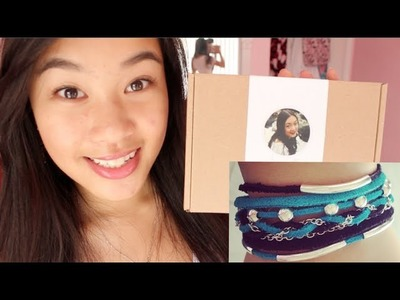 AmandaRachLee's DIY box!! | Layered Wrap Bracelet