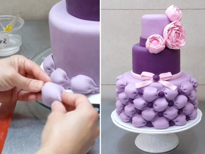 Billowed Cake - How To by CakesStepbyStep