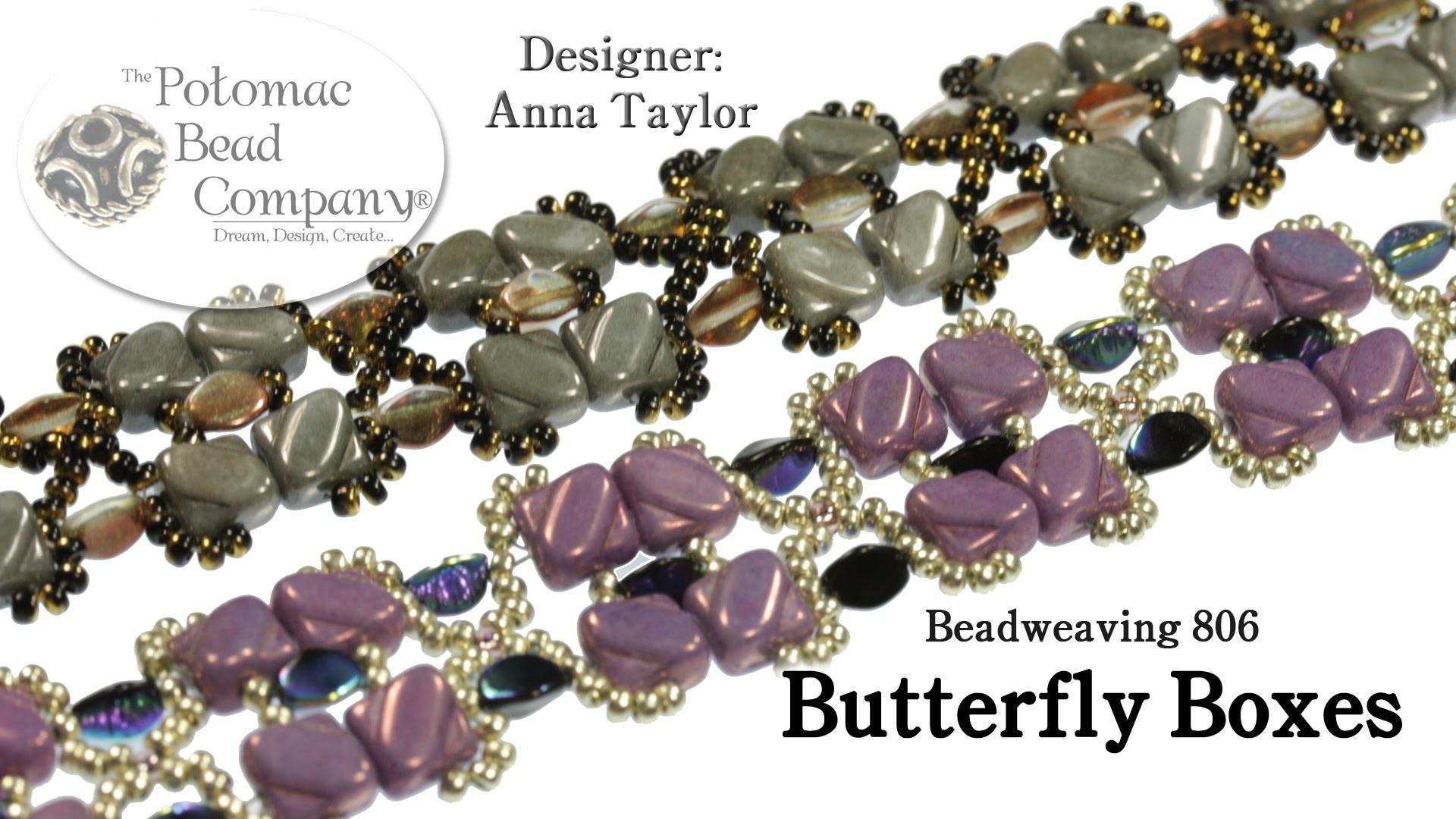 """"""" Butterfly Boxes """" Bracelet"""