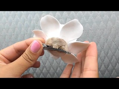 Clay Gardenia Hair Flower  from Hair Comes the Bride