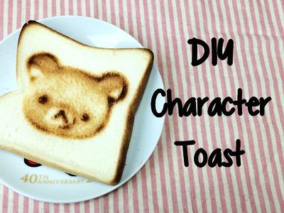 DIY- Cute Character Toast