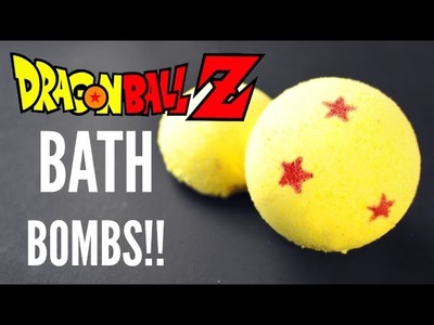 DIY Dragon Ball Z Bath Bomb