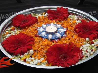 DIY Flower Rangoli on Water 1 JK Arts 186