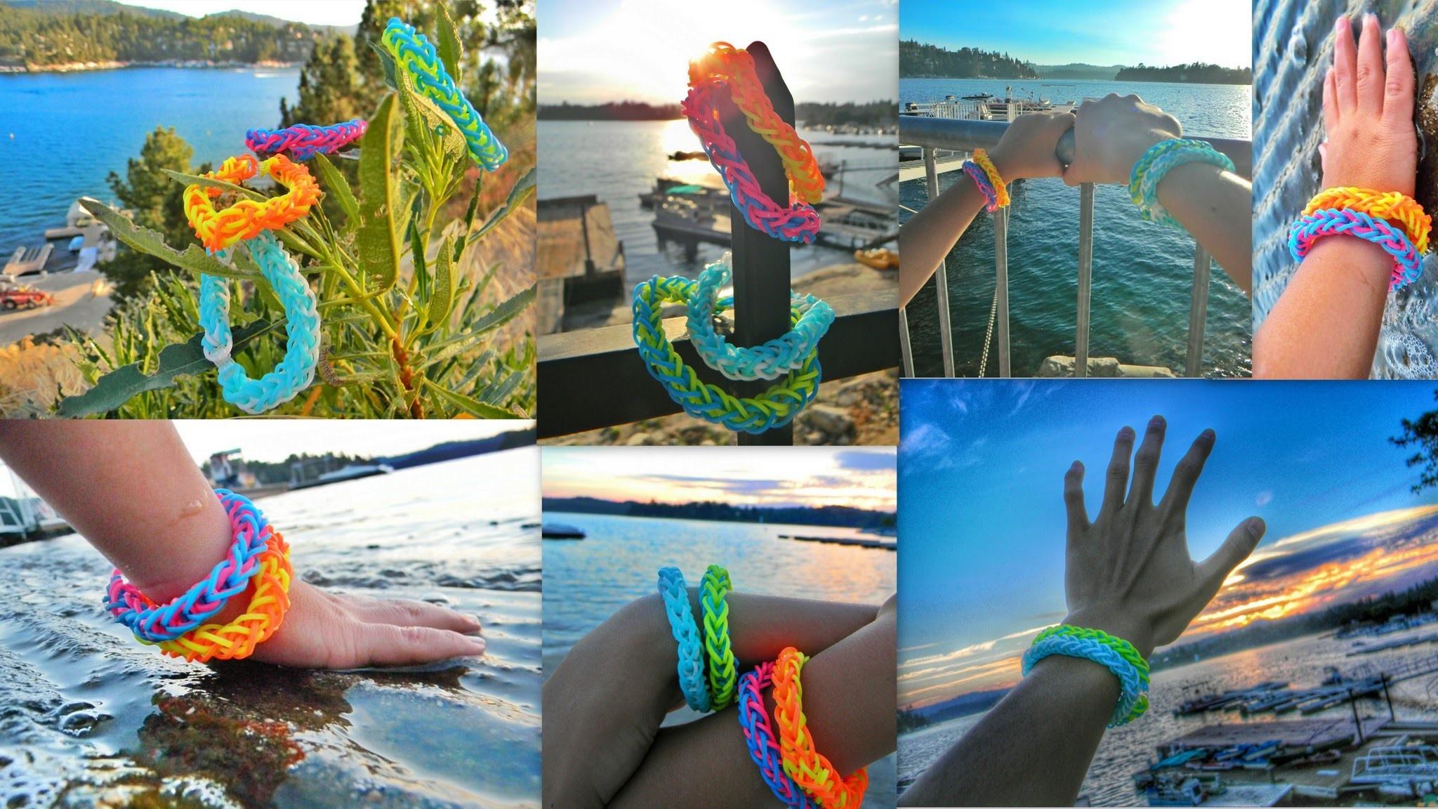 Diy French Braid Rainbow Loom Bracelet