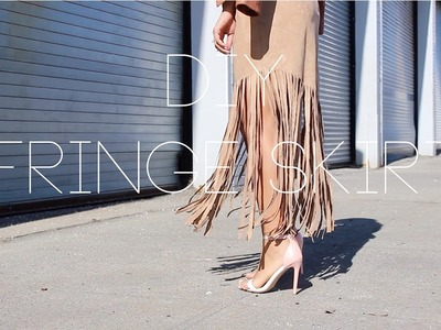 DIY Fringe Skirt - Spring 2015 Fashion Trends |The Way To My Hart
