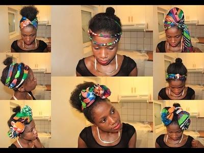 DIY Headwrap | 22 Different Styles