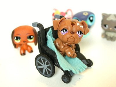 DIY LPS how to make an LPS wheelchair
