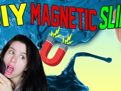 DIY Magnetic SLIME! | DIY Crazy Aaron's Thinking Putty! | Easy and Quick To Make!