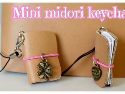 DIY Midori traveler's notebook keychain