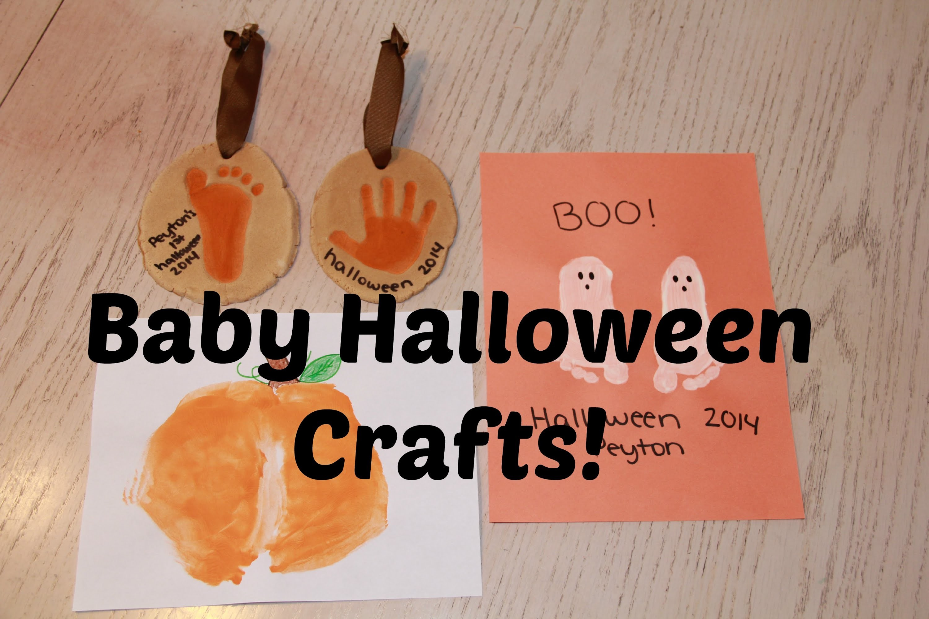 DIY Tuesday: Baby Halloween Crafts