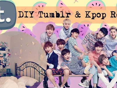 DIY Tumblr & Kpop Inspired Room Decor | Simple + Cheap