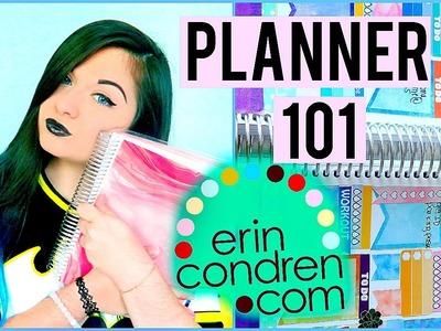 Erin Condren Plan with Me | Watercolor Theme