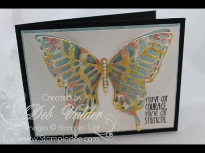 How To Half-Cut your Butterfly Thinlit with Deb Valder