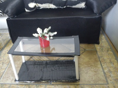 How To Make a Doll Coffee Table