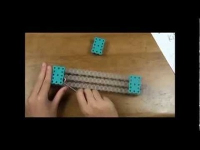 How to make a zig zag rainbow loom bracelet