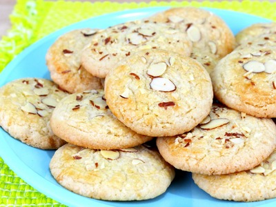 How to Make Chinese Almond Cookies!