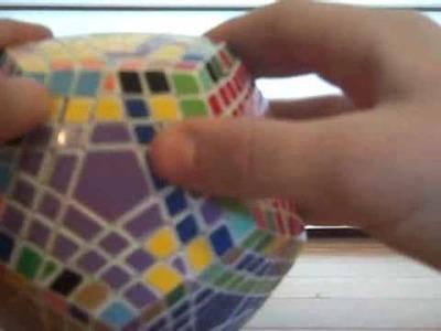 How to solve a Teraminx Tutorial Part 3: Last 2 Centers