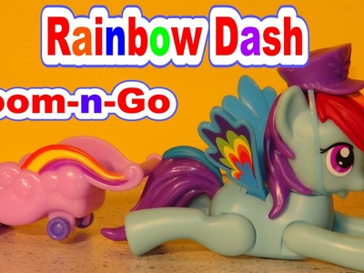 My Little Pony Zoom n Go Rainbow Dash with Zoom and Go Pinkie Pie