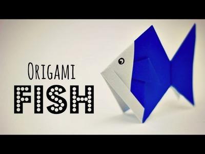 Origami fish instructions