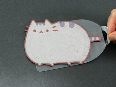 Pancake Art - Pusheen Cat by Tiger Tomato